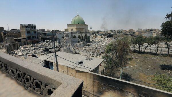 Situación el la Ciudad Vieja de Mosul - Sputnik Mundo