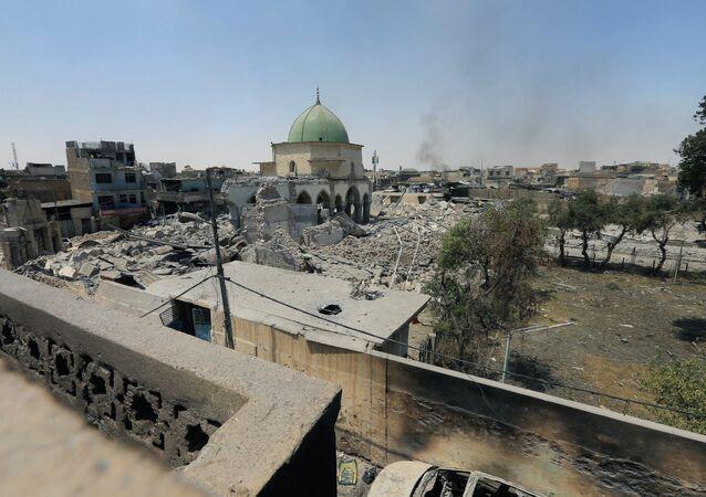 Situación el la Ciudad Vieja de Mosul (archivo)