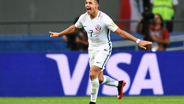 Alexis Sánchеz de la selección de Chile - Sputnik Mundo