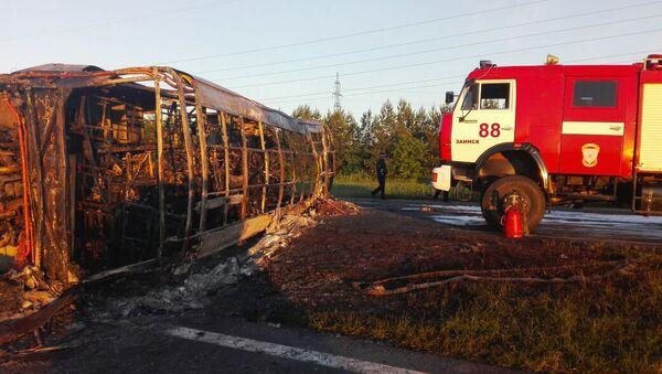 Accidente de autobús en Tartaristán - Sputnik Mundo