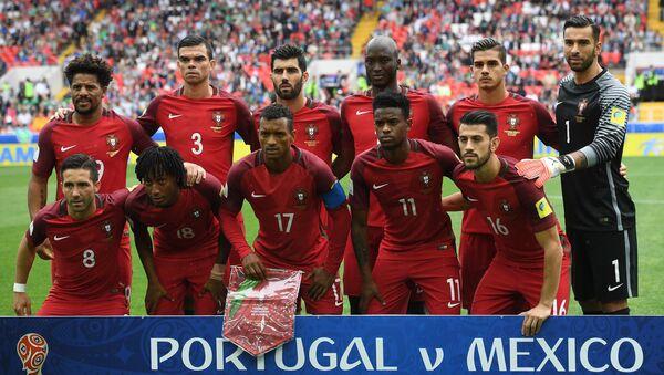 La selección portuguesa en el partido para definir tercer y cuarto puesto de la Copa Confederaciones 2017 - Sputnik Mundo