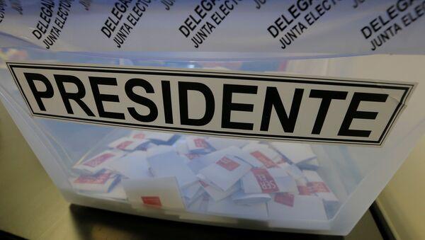 Se inicia la apertura de mesas en Chile para elecciones primarias - Sputnik Mundo