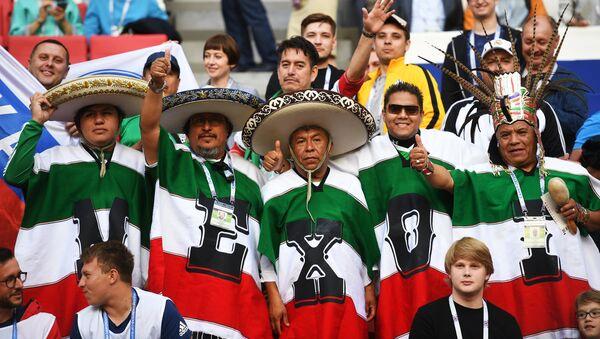 Hinchas de la selección mexicana - Sputnik Mundo