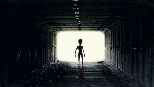 Un extraterrestre (imágen referencial) - Sputnik Mundo