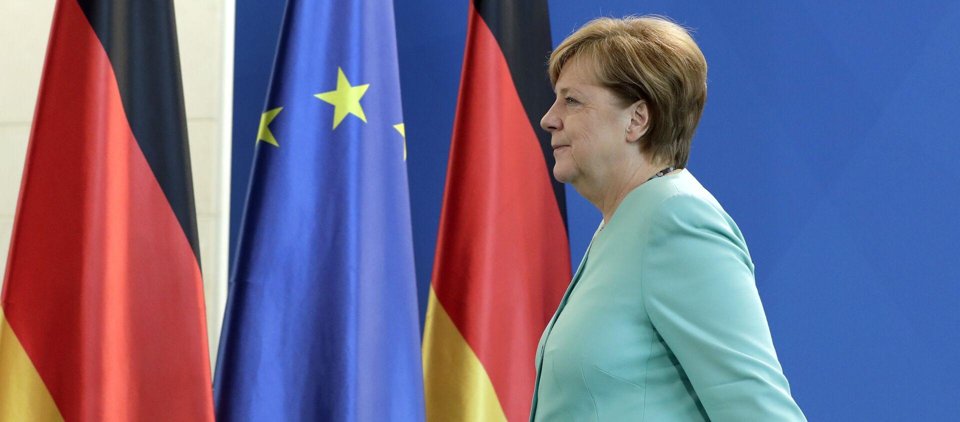 Angela Merkel, canciller de Alemania - Sputnik Mundo, 1920, 02.03.2018