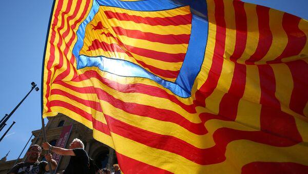 Estelada, bandera independentista catalana - Sputnik Mundo