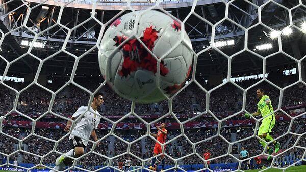 Un gol anotado durante la Copa Confederaciones Rusia 2017 - Sputnik Mundo