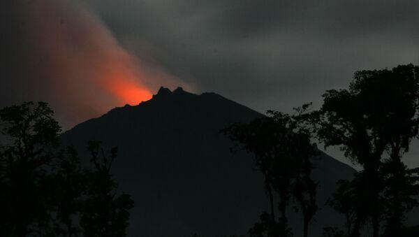 Volcán ecuatoriano Reventador - Sputnik Mundo
