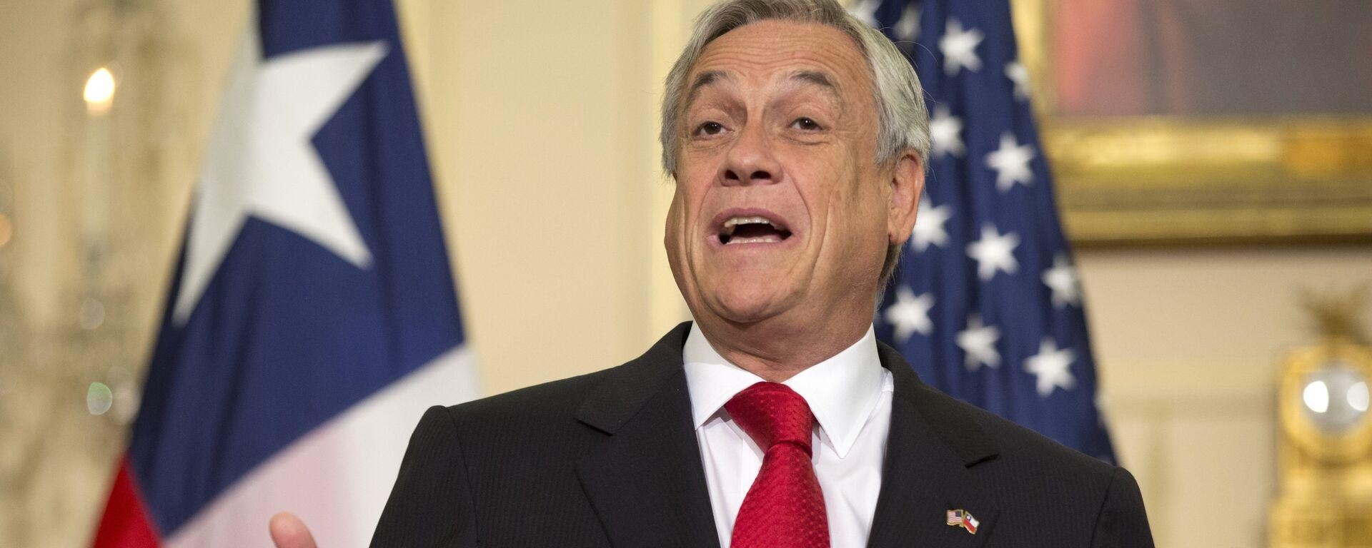 Sebastián Piñera, candidato a la presidencia y exmandatario (2010-2014) chileno - Sputnik Mundo, 1920, 04.09.2021