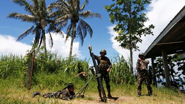 Militares filipinos (archivo) - Sputnik Mundo