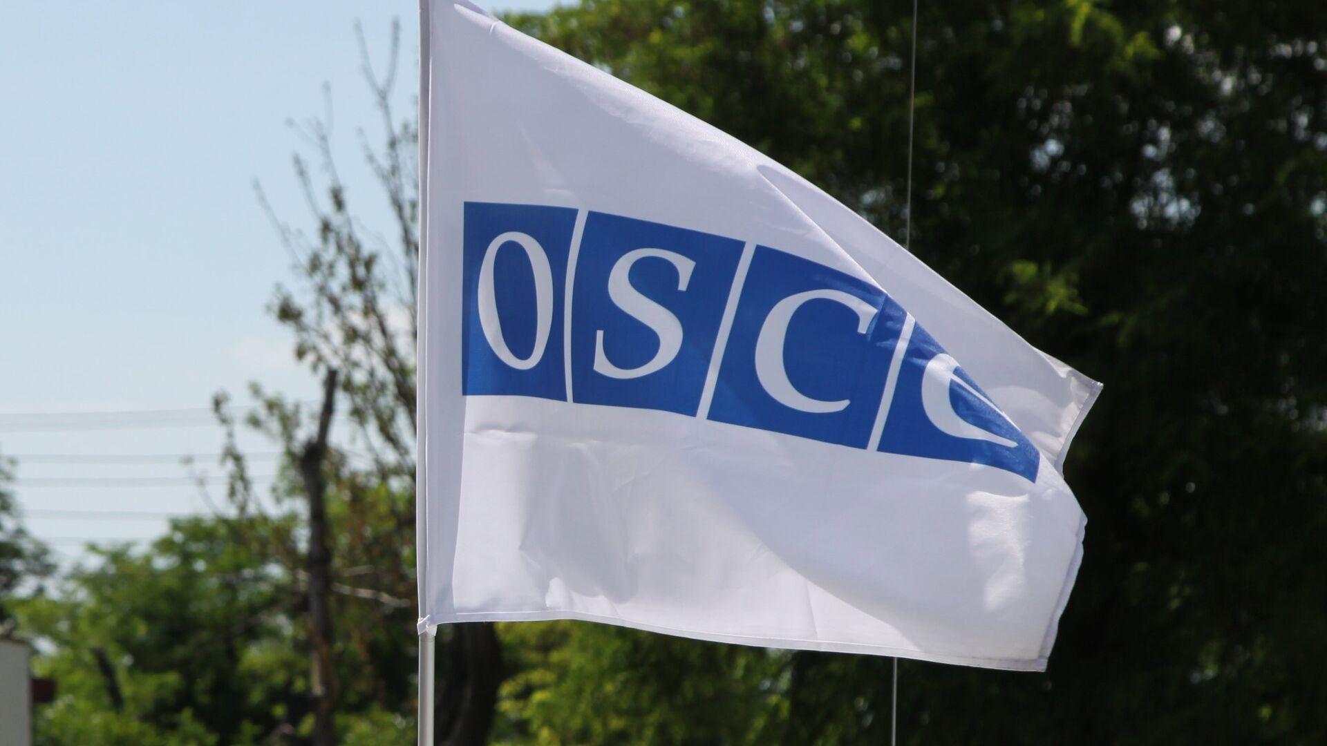 La bandera de la OSCE en Donbás - Sputnik Mundo, 1920, 01.04.2021