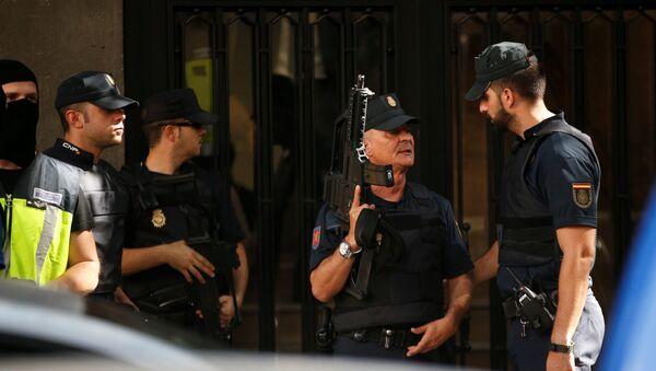 Policía de España (archivo) - Sputnik Mundo