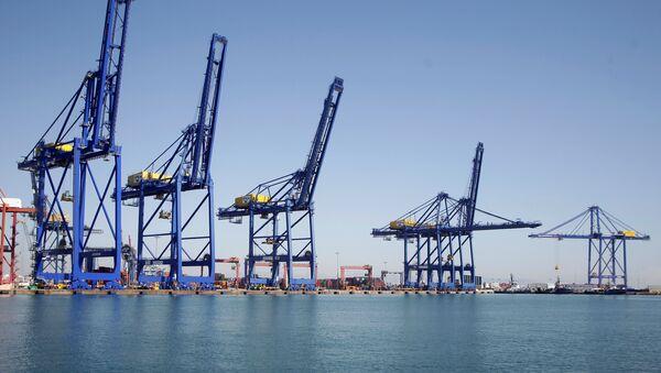 Puerto de Valencia, España - Sputnik Mundo