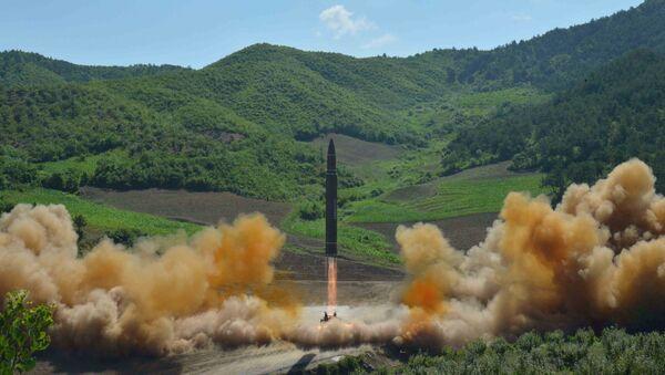 Corea del Norte lanza un nuevo misil balístico - Sputnik Mundo