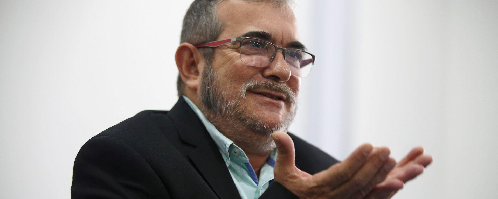 El máximo líder de las FARC, Rodrigo Londoño, alias Timochenko - Sputnik Mundo, 1920, 07.04.2021