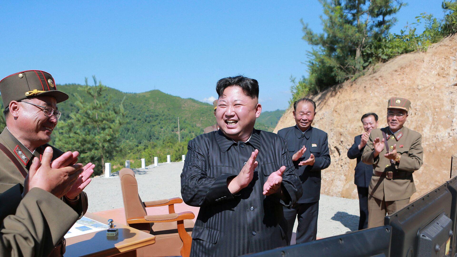 Kim Jong-un, líder de Corea del Norte (archivo) - Sputnik Mundo, 1920, 15.09.2021