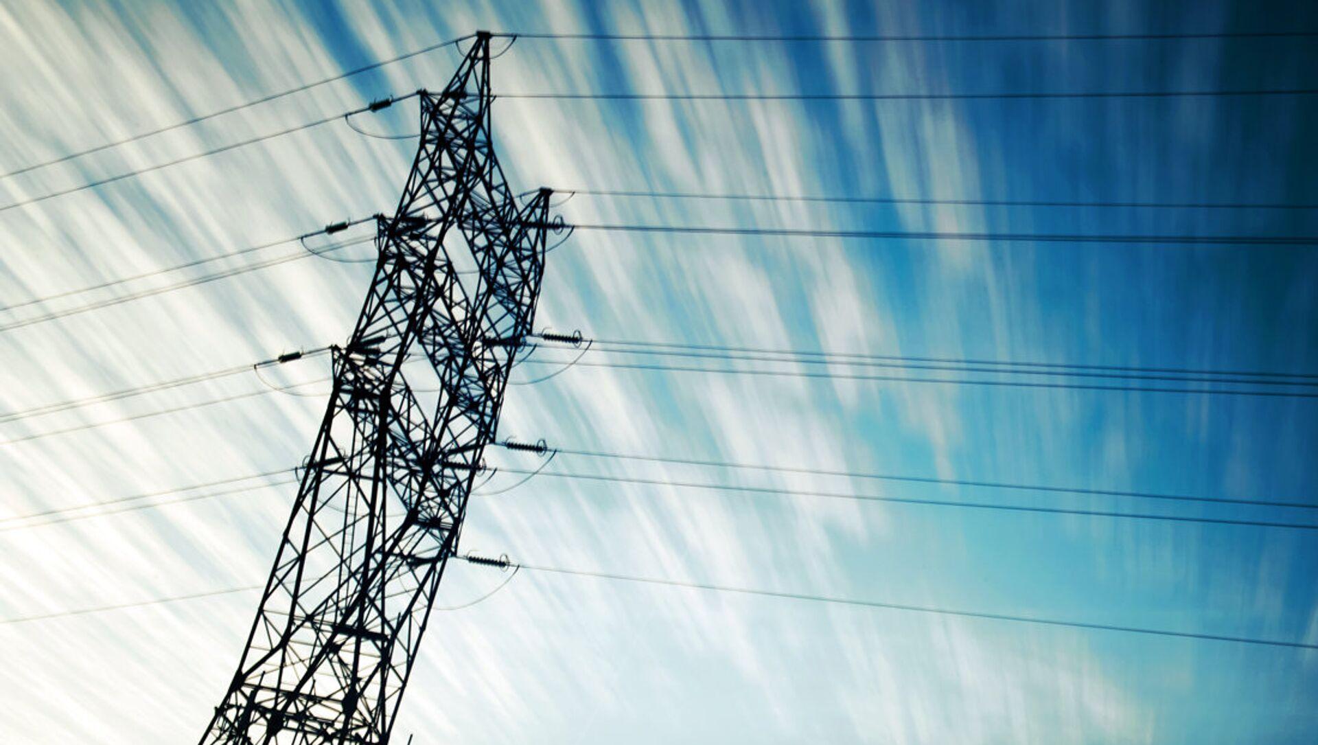 Líneas de electricidad (imagen referencial) - Sputnik Mundo, 1920, 29.11.2020
