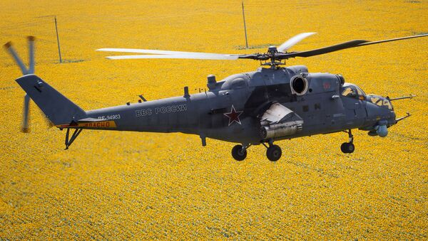 El helicóptero Mi-35M está destinado a las operaciones de combate contra vehículos de un potencial enemigo. Además, puede ser empleado en asaltos, apoyo a tropas terrestres, evacuación de heridos del campo de batalla y transporte de mercancías. - Sputnik Mundo