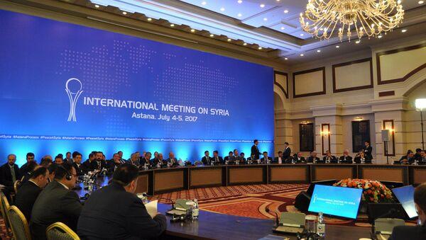 Consultas de Siria en Astaná - Sputnik Mundo