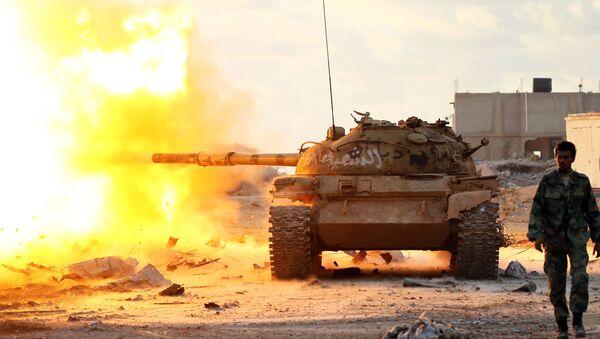 El Ejército Nacional de Libia - Sputnik Mundo