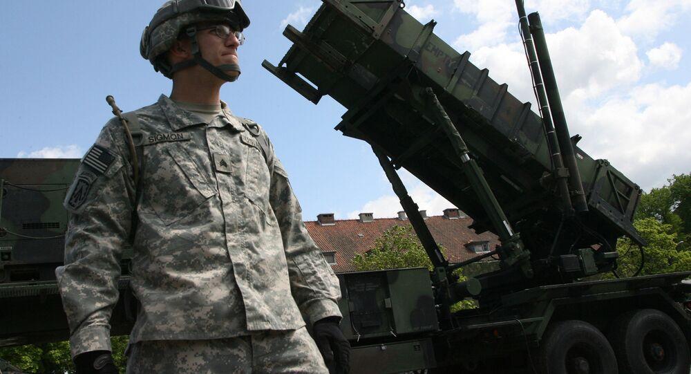 Sistemas de defensa antiaérea y antimisiles Patriot (archivo)