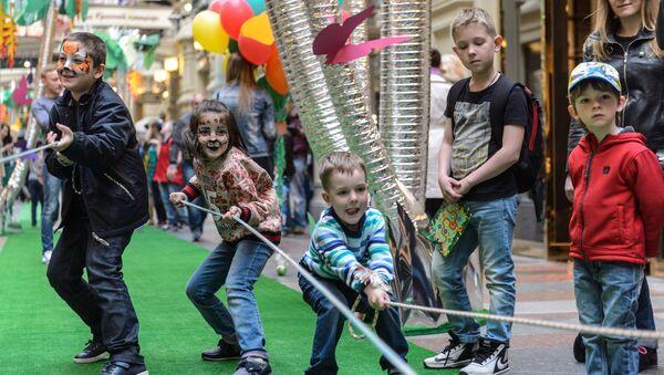 Los niños rusos (imagen referencial) - Sputnik Mundo