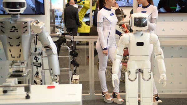 Los robots (imagen referencial) - Sputnik Mundo