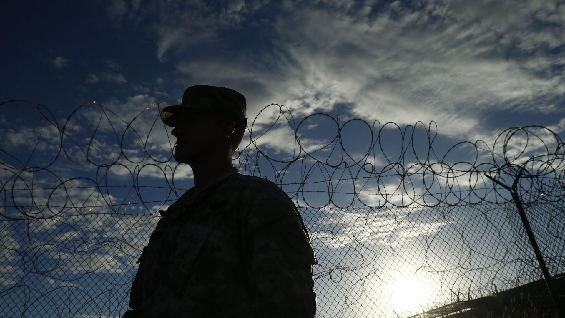 Soldado estadounidense en Guantánamo - Sputnik Mundo, 1920, 06.05.2021