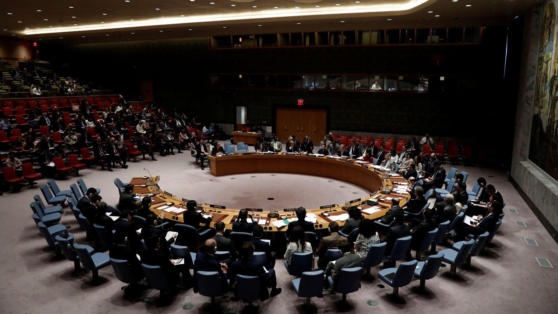 El Consejo de Seguridad de la ONU - Sputnik Mundo, 1920, 11.05.2021