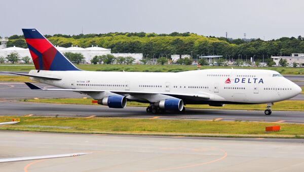 Un avión de Delta Airlines - Sputnik Mundo
