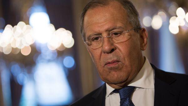 Serguéi Lavrov, canciller ruso - Sputnik Mundo