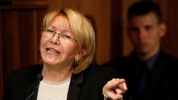 Luisa Ortega, exfiscal general de Venezuela - Sputnik Mundo