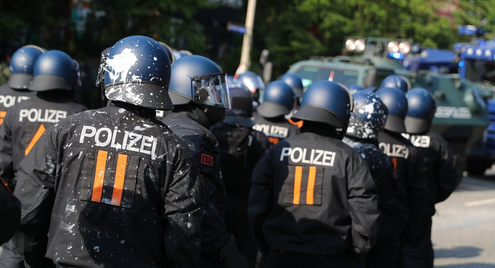 Policía de Alemania