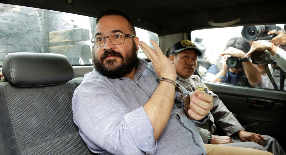 Javier Duarte, exgobernador de Veracuz