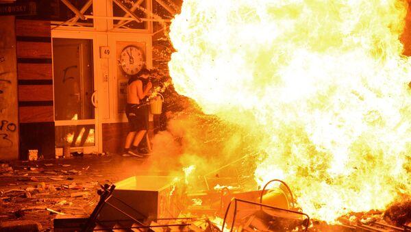 Protestas en Hamburgo - Sputnik Mundo