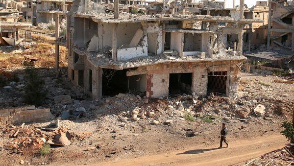 Edificios destruidos en Siria - Sputnik Mundo