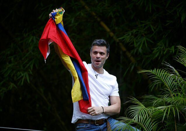 Leopoldo López, líder opositor venezolano