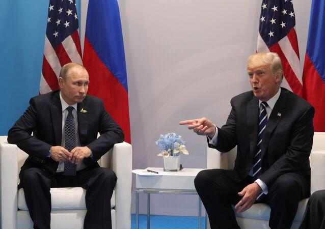 Presidentes de Rusia y EEUU, Vladímir Putin y Donald Trump