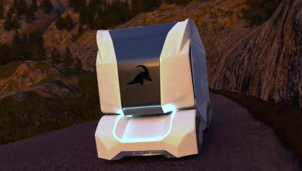 El T-pod, vehículo eléctrico y autónomo - Sputnik Mundo