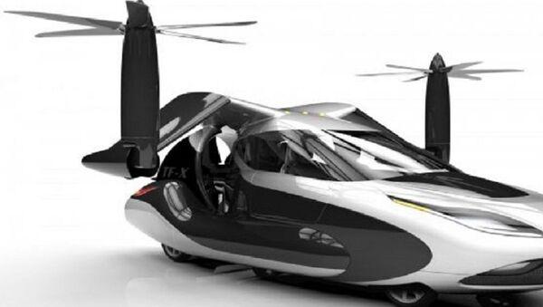 Coche volador TF-X - Sputnik Mundo