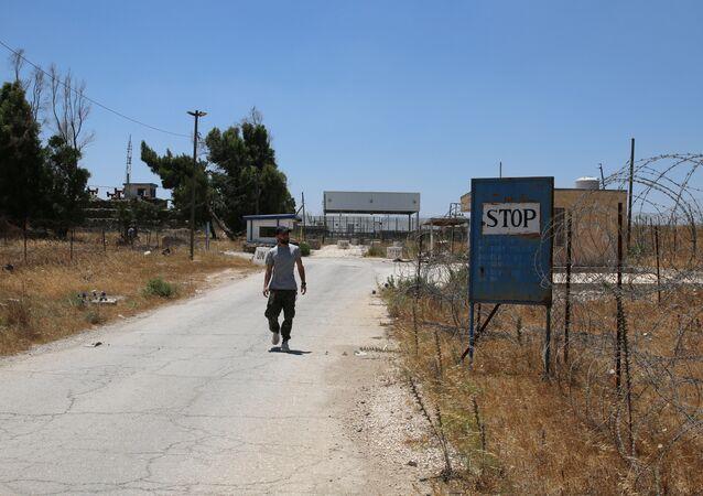 La provincia de Al Quneitra, Siria