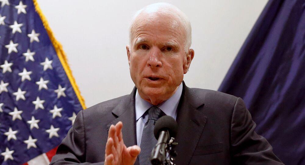 El senador estadounidense, John McCain
