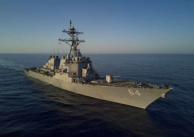 Destructor estadounidense USS Carney (archvio)