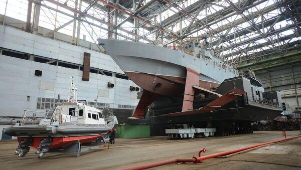 Un barco hidroala ruso (imagen referencial) - Sputnik Mundo