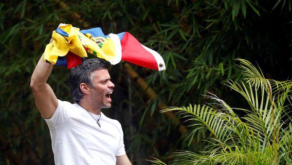 Leopoldo López, líder opositor venezolano - Sputnik Mundo