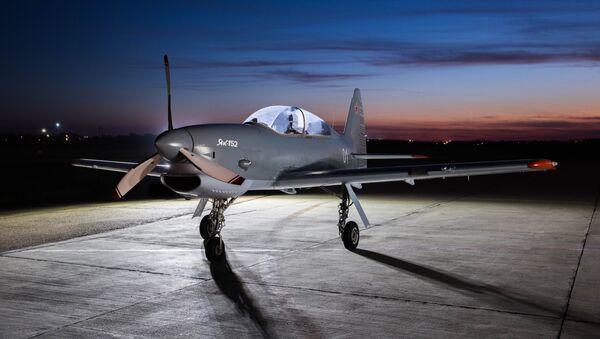 El Yak-152, avión biplaza de entrenamiento militar - Sputnik Mundo