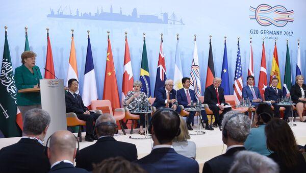 Cumbre del G20 en Hamburgo, Alemania - Sputnik Mundo