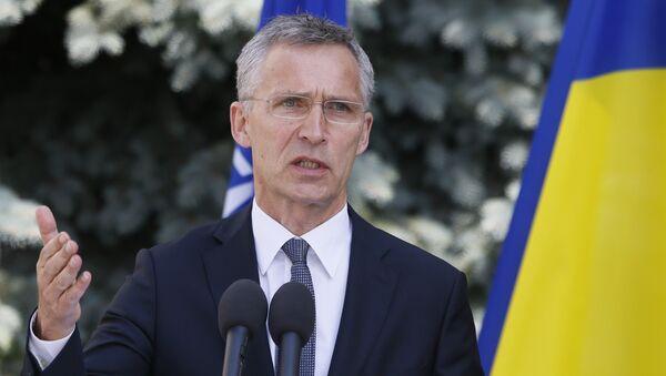 Jens Stoltenberg, el secretario general de OTAN - Sputnik Mundo
