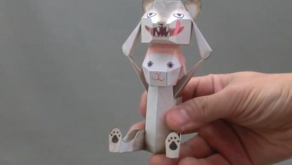 Un autómata de papel creado por Haruki Nakamura - Sputnik Mundo