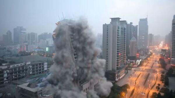 Demolición en China - Sputnik Mundo